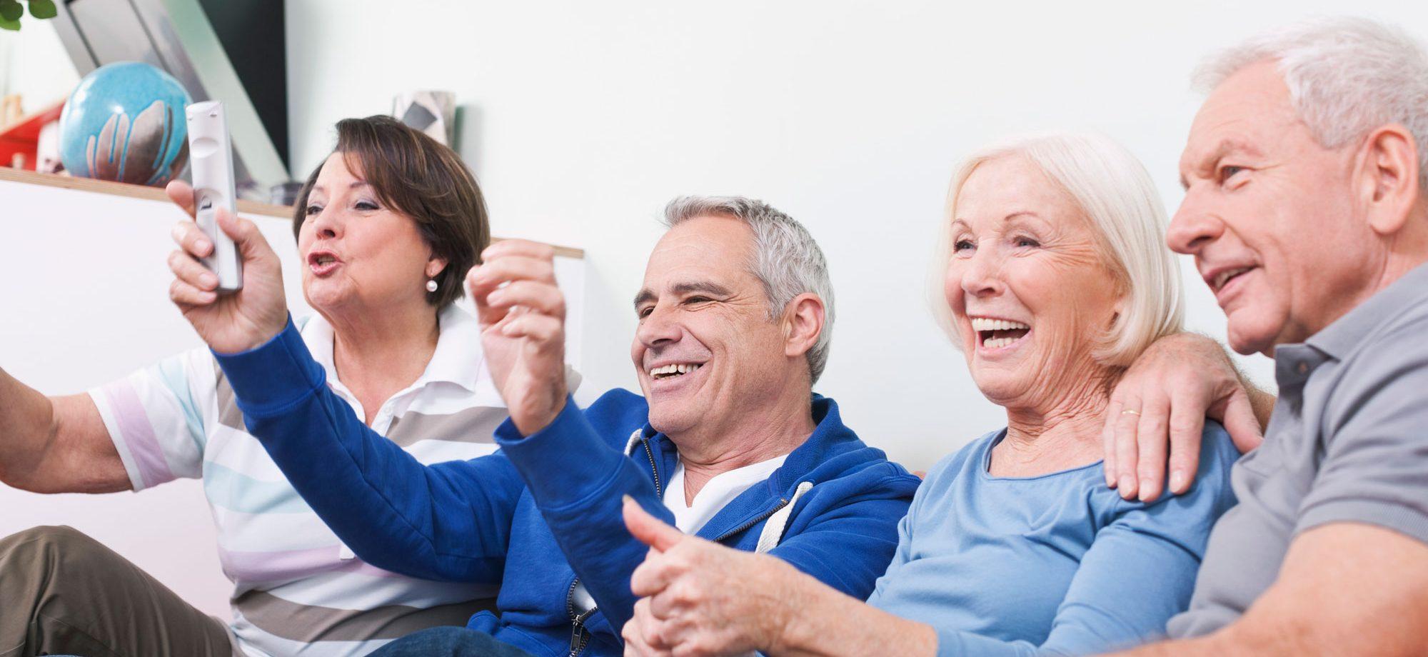television in Senior living